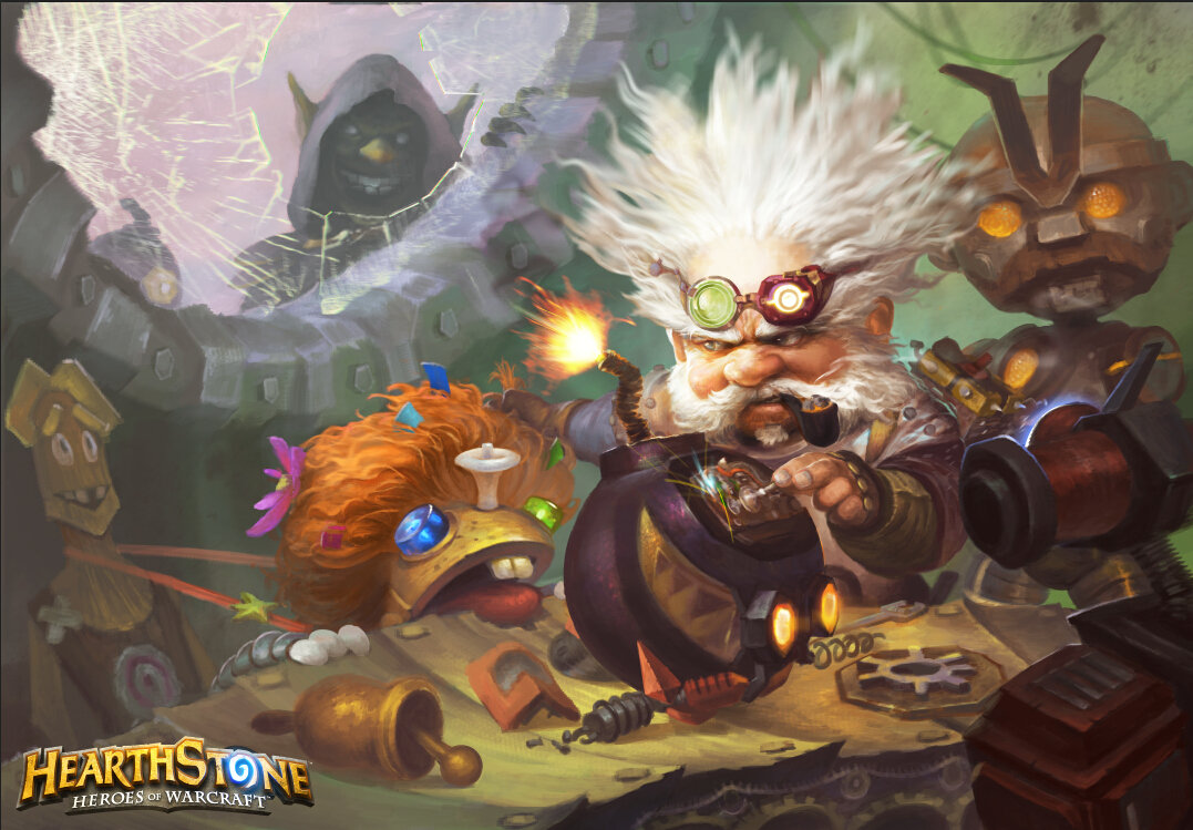 Dr Pengpeng snooping the artisan town   Hearthstone