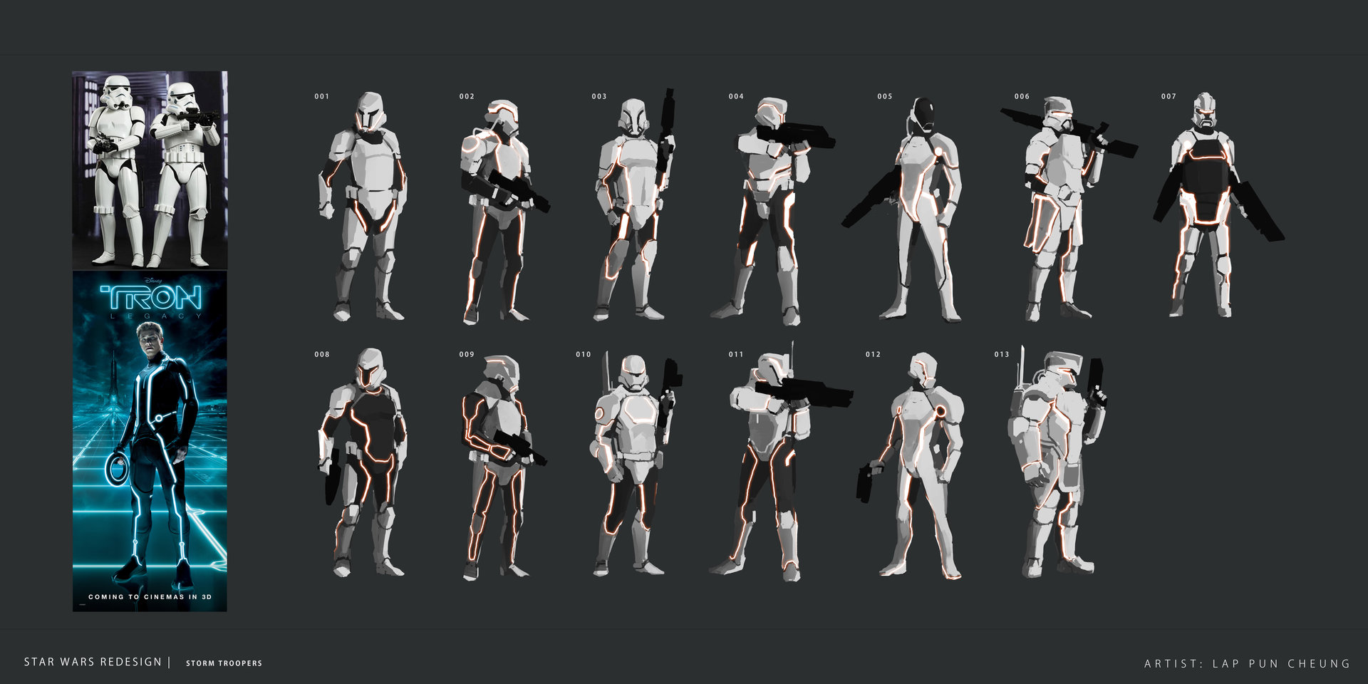 Star Wars - Storm Trooper Redesign 01
