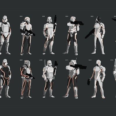 Lap pun cheung star wars stormtroopers redesign 01