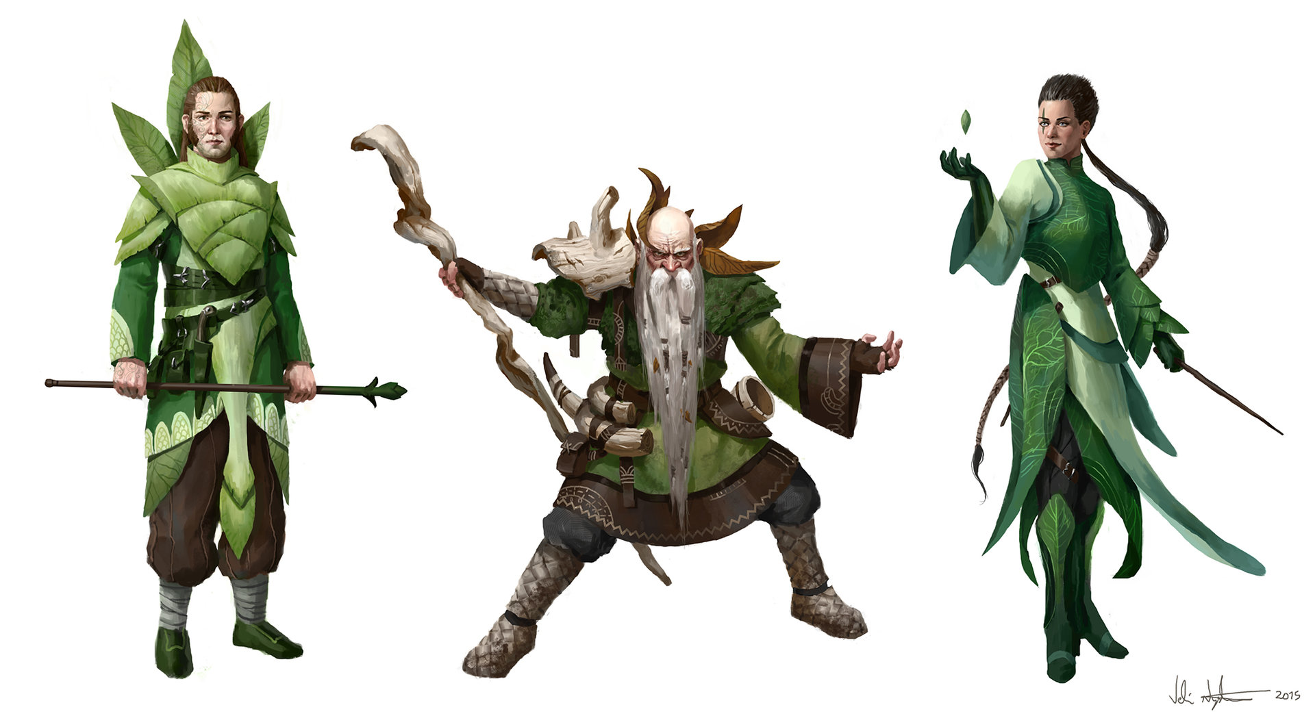 Veli nystrom nature sorcerers concepts