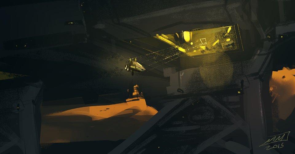 Mike mccain spaceship parking