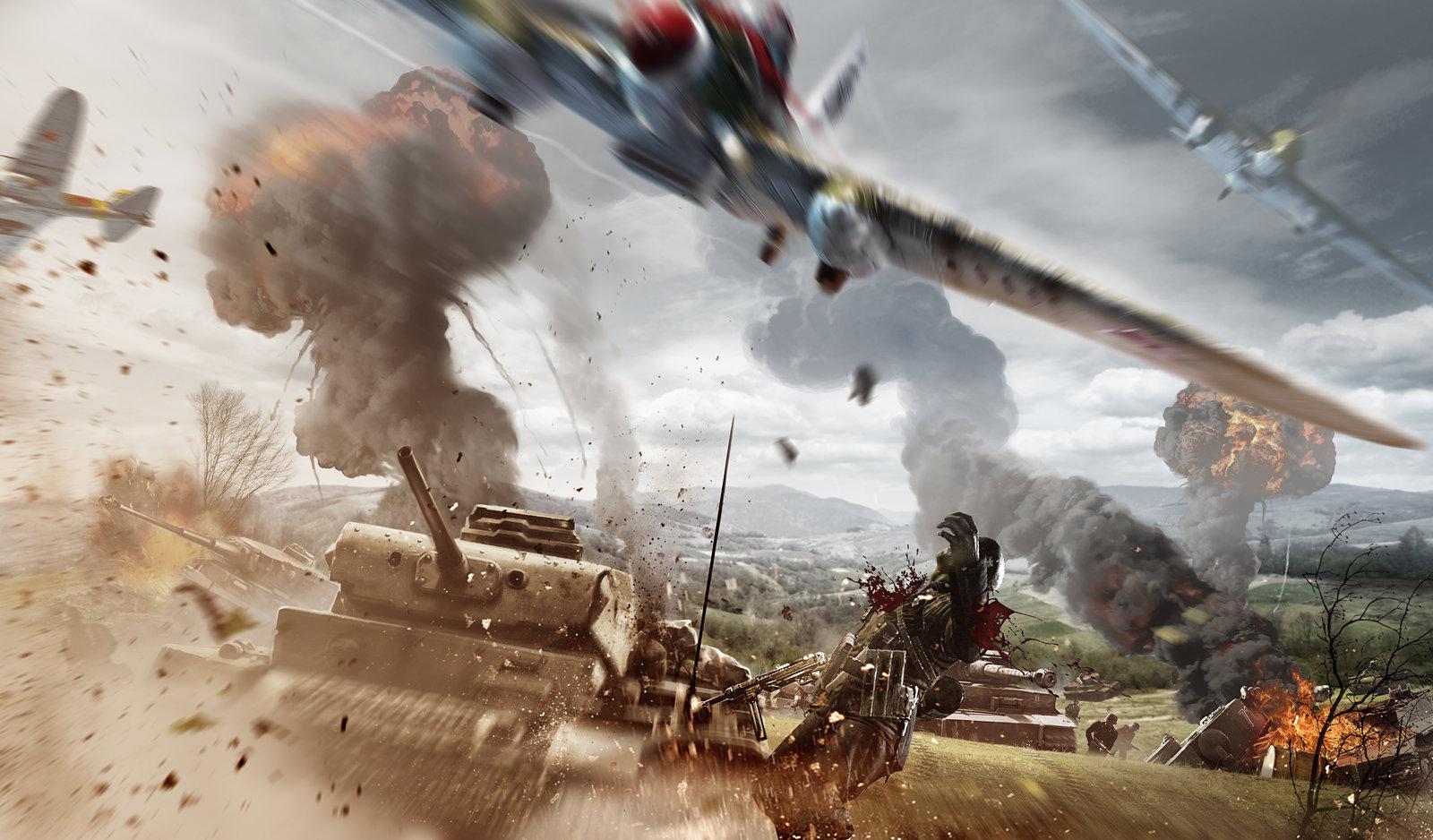 Combat promo art 1
