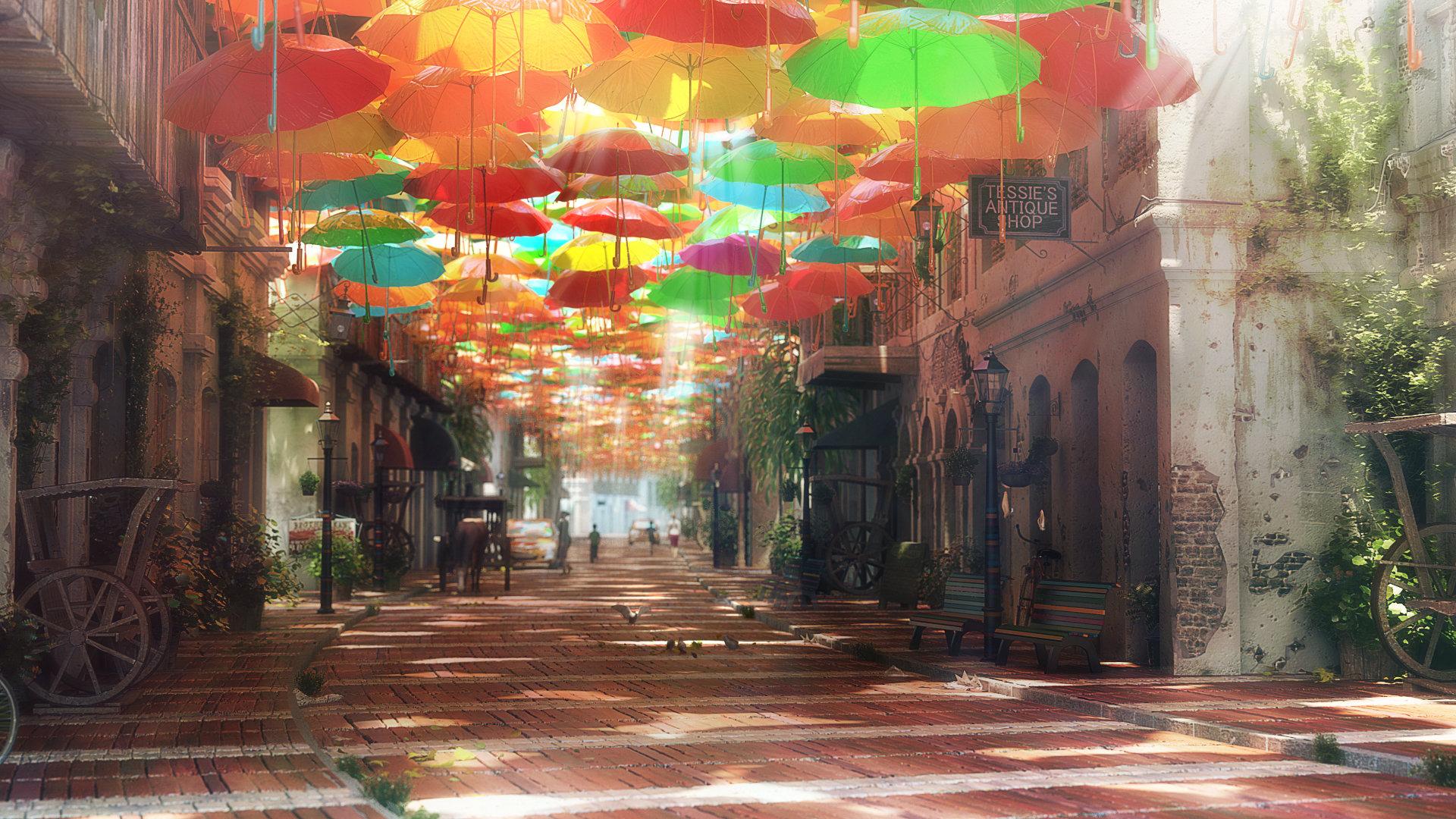 Artstation street of dreams murad abujaish for Street of dreams