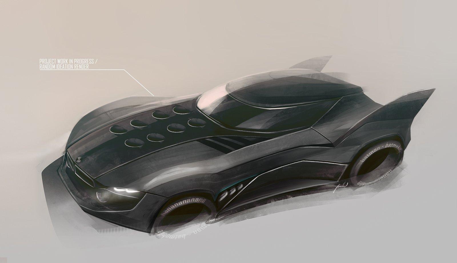 batmobile ideation - dark