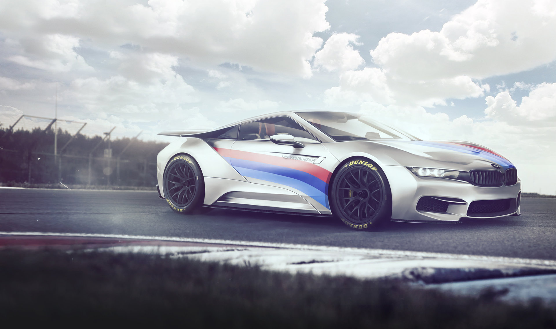 Artstation Bmw Custom I8 Yasid Oozeear