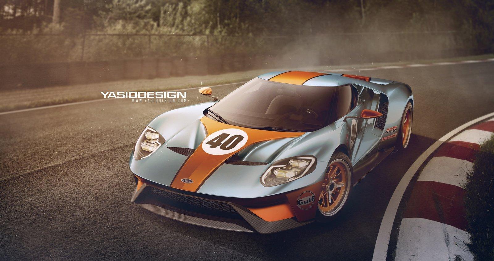 Ford GT - Gulf