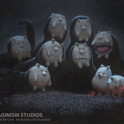 Bobby chiu arludik teddy bear monsters