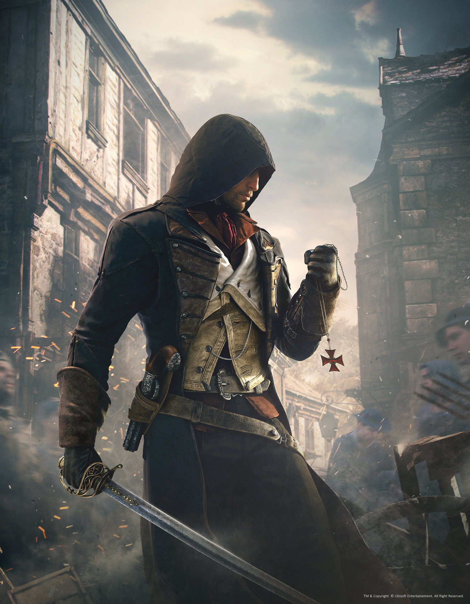 Artstation Assassins Creed Unity Artwork03 Hugo Deschamps