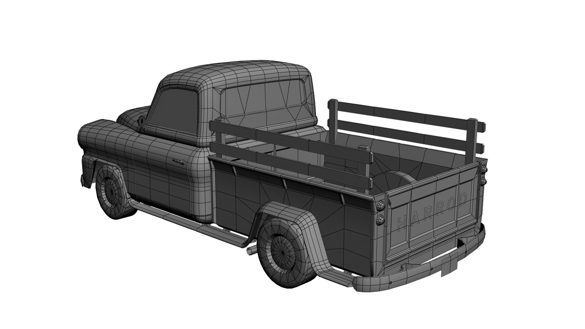 Peter Harrod Pick Up Truck Rear