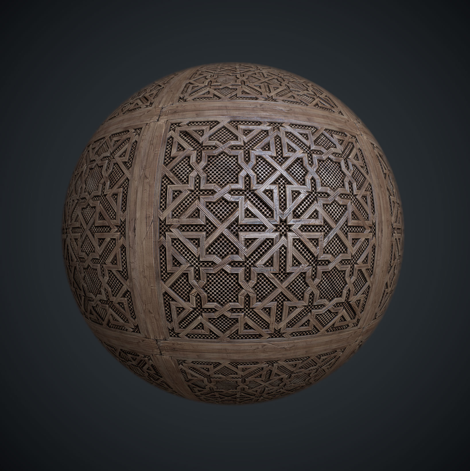Leonid kuzyakin moorish lattice 01
