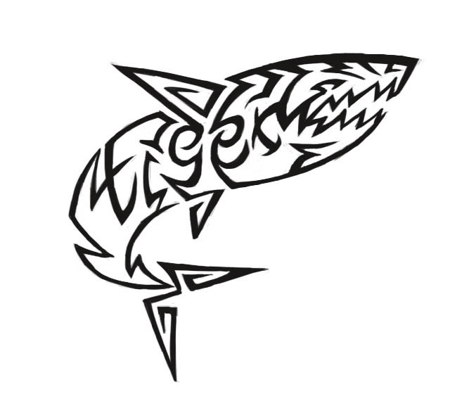 Great White Shark Tattoo Designs Drawings