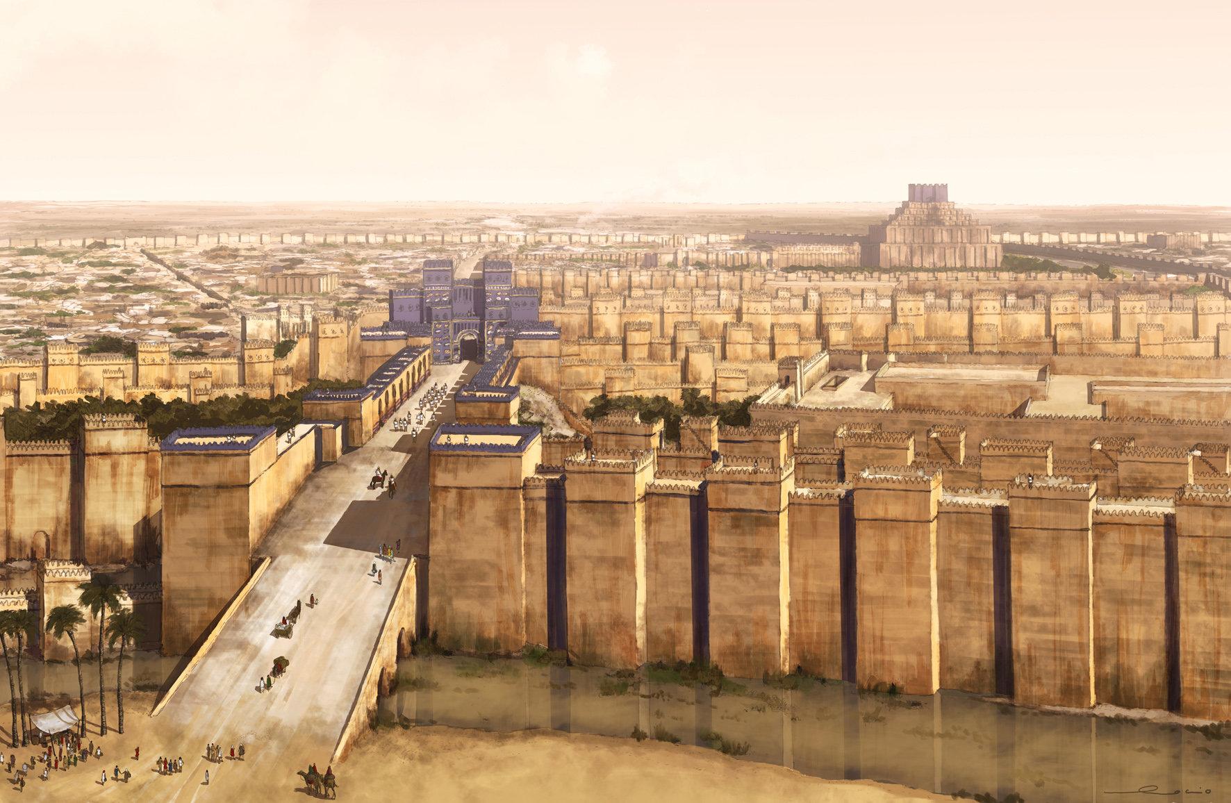 Rocío Espín Piñar Babylon S Walls