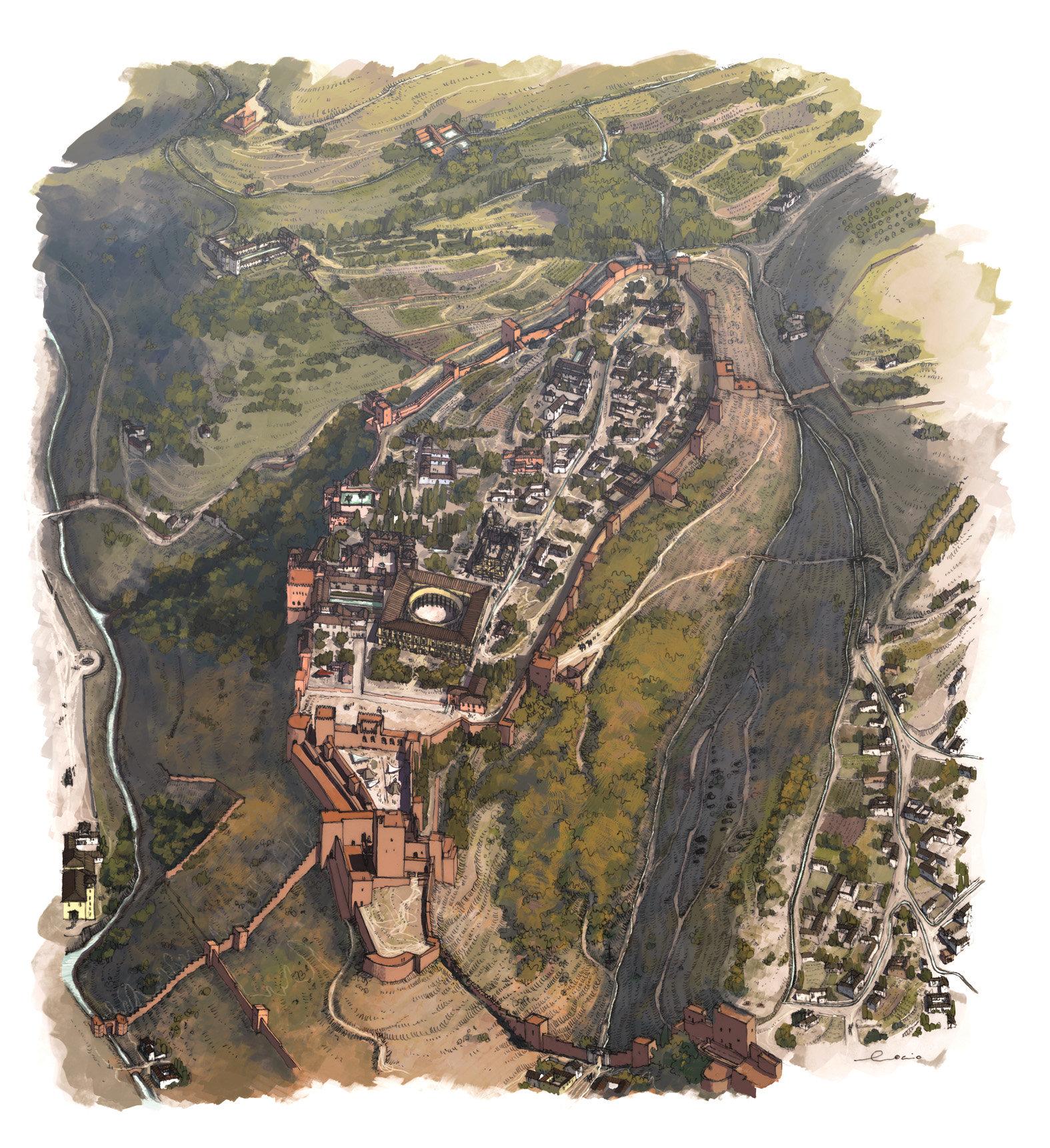 Rocio espin pinar alhambra y el generalife 1600