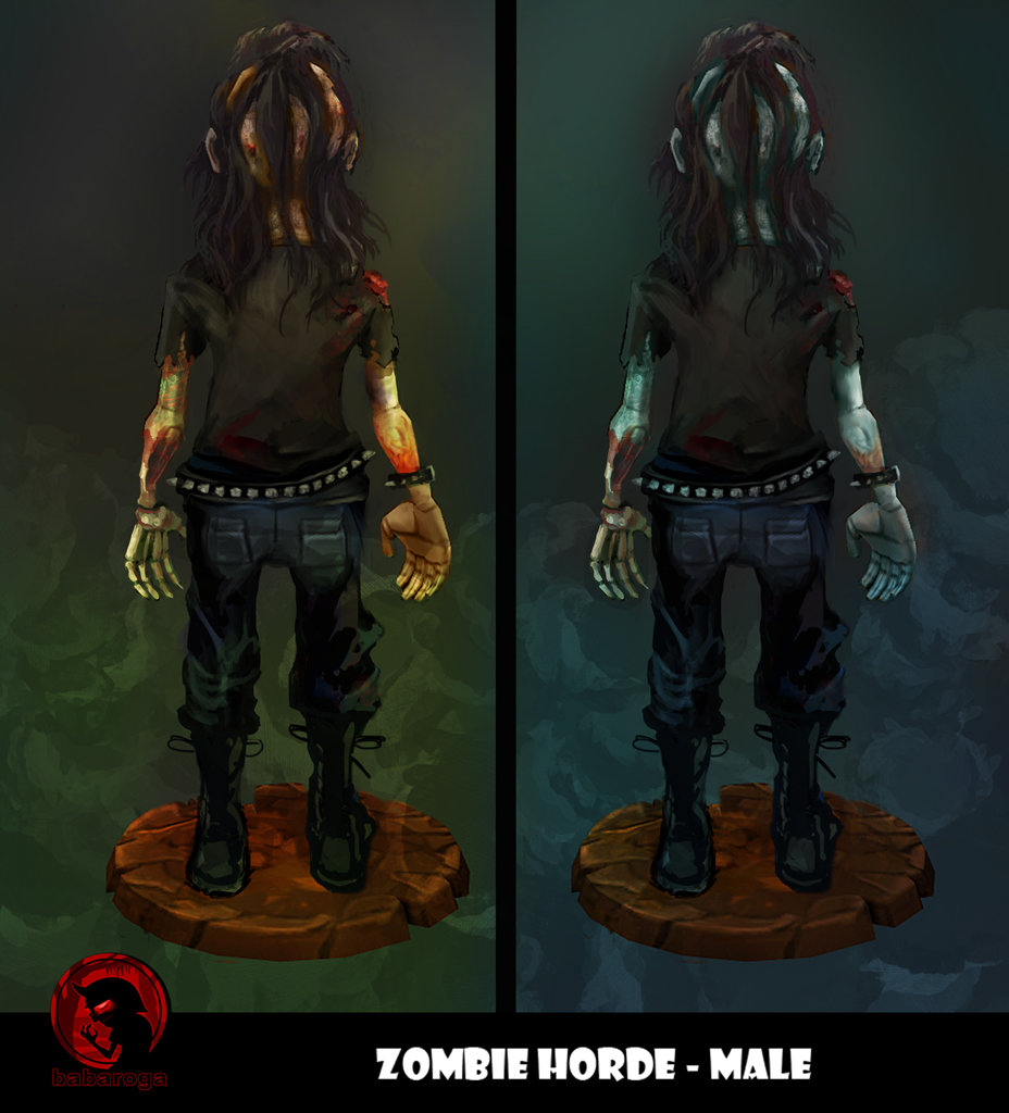 Frank pusateri zombies male back