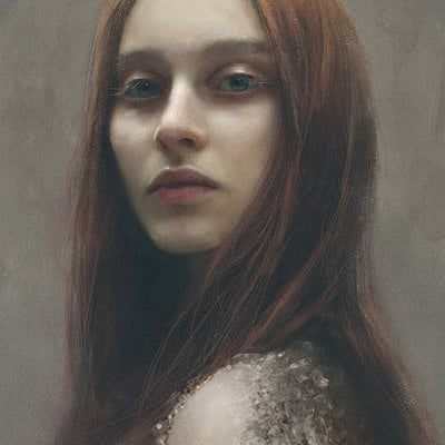 Eve ventrue red portrait