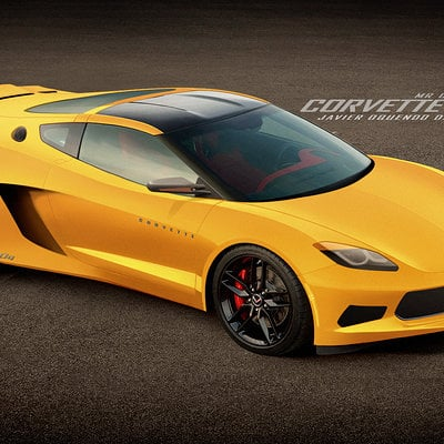 Javier oquendo mr corvette c8