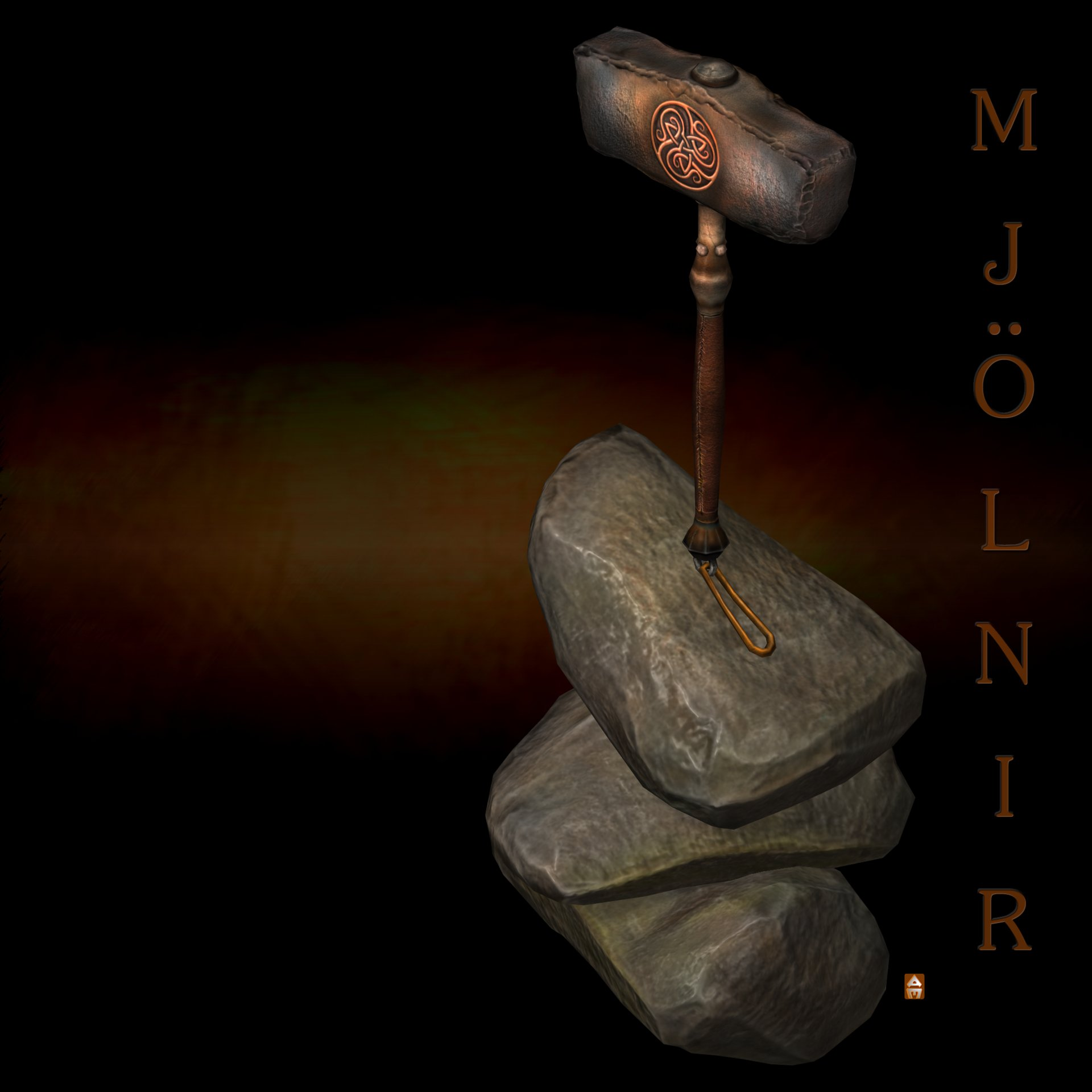 Anthony myers thors hammer mjonir