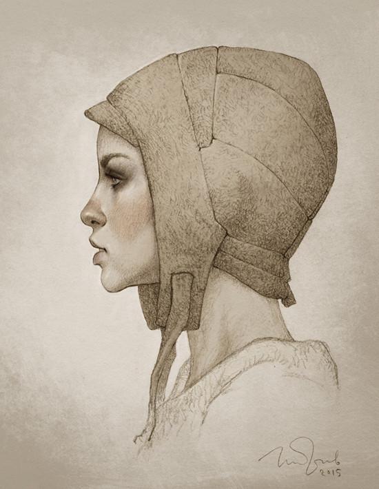 Girl Art by Penko Gelev