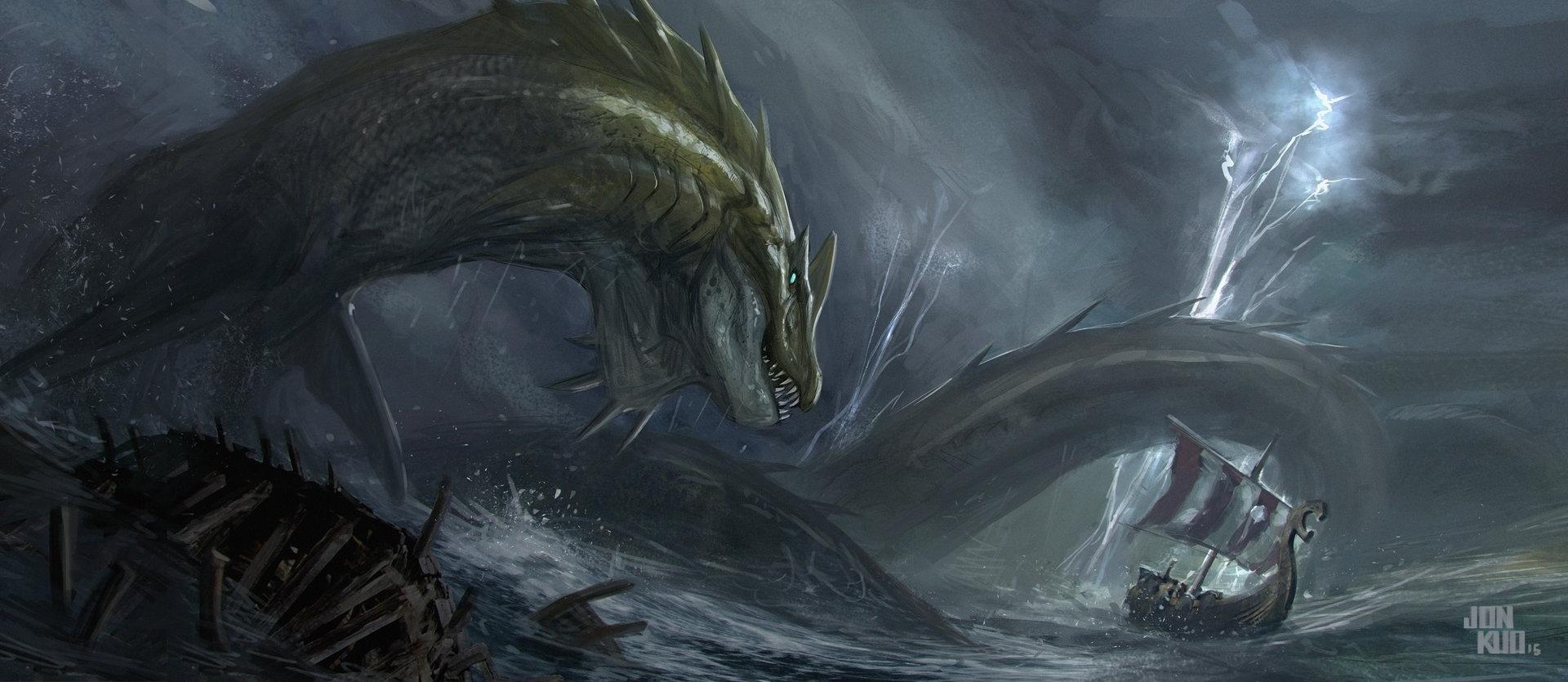 Jonathan kuo sea monster