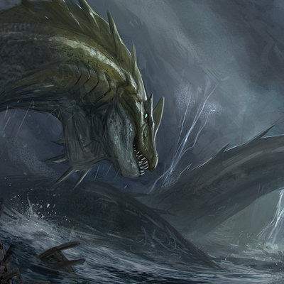 Jonathan kuo sea monster
