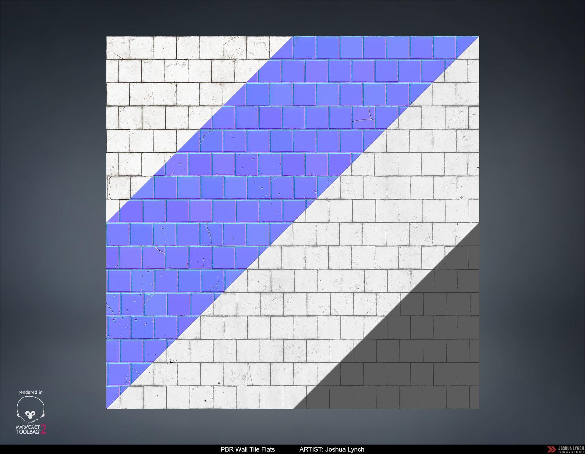 Joshua lynch subway wall tile flats layout comp josh lynch