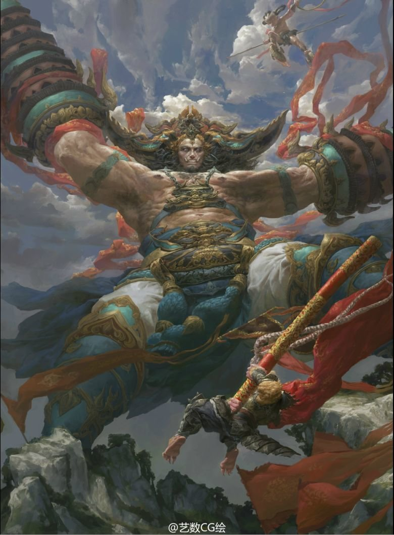 Fenghua zhong big evil monkey