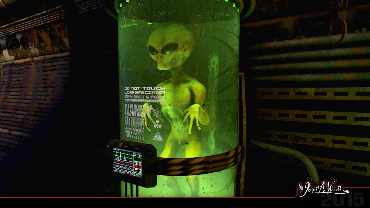 Joseph wraith wraithlair aliensector 03