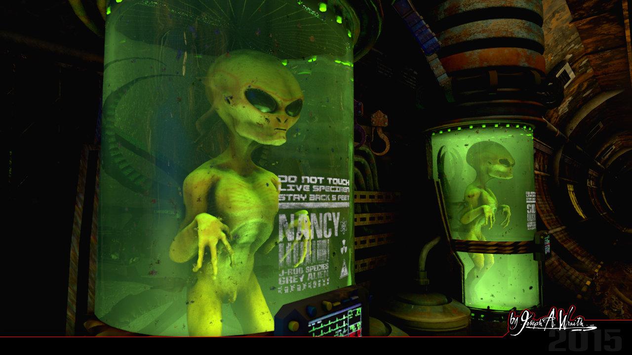 Joseph wraith wraithlair aliensector 04