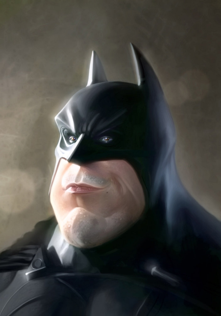 George patsouras batmancaricature