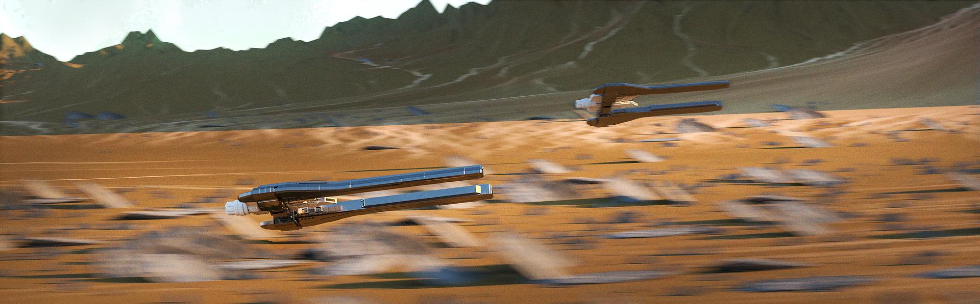 Efflam mercier speed racer renders