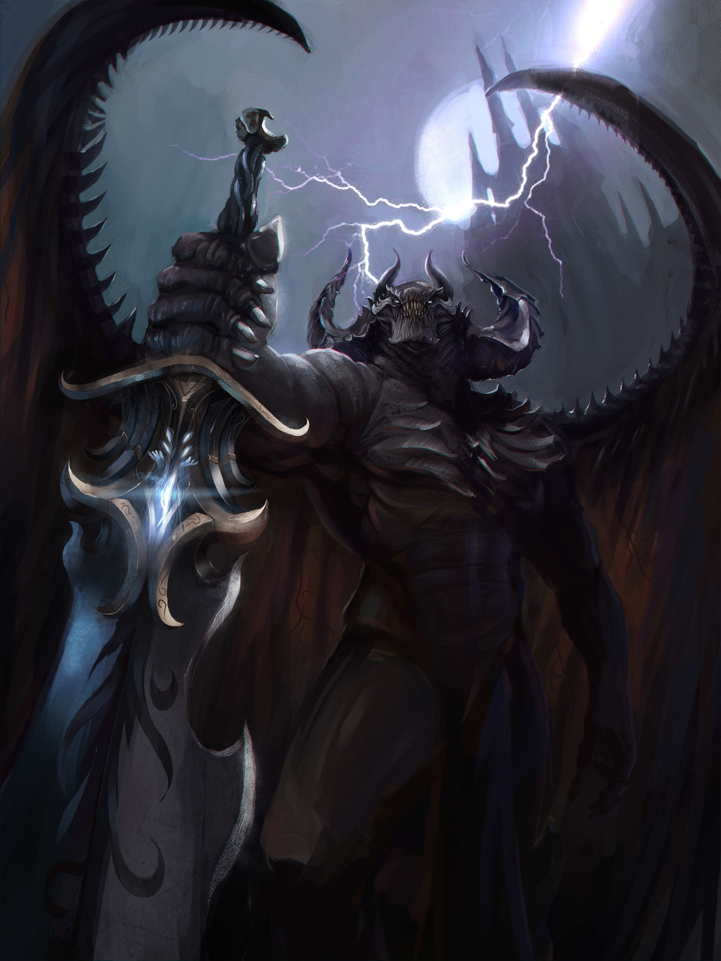 ArtStation - king of Demons , Vincent Gradt