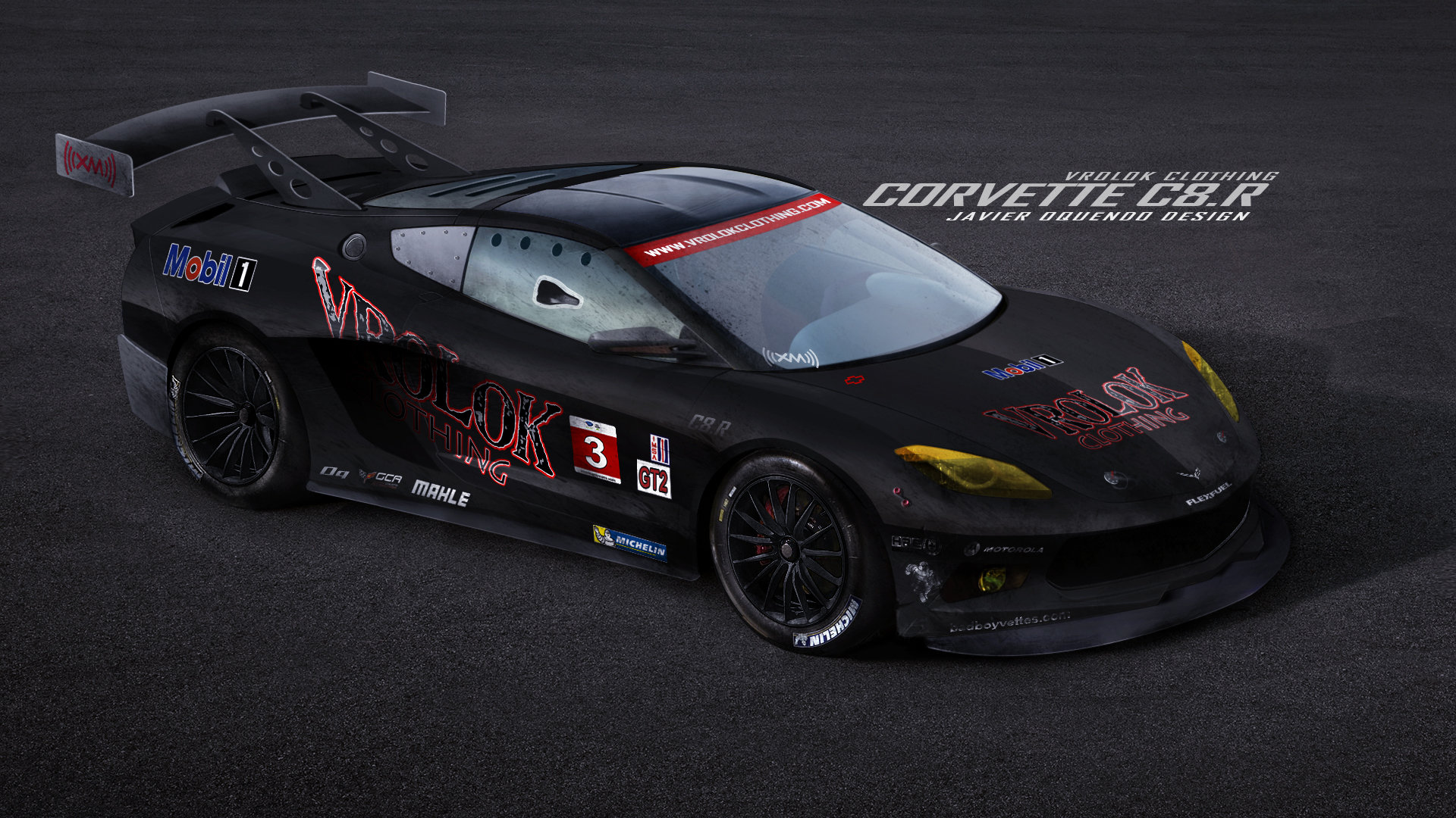 Mid Engine Corvette >> Javier Oquendo - Vrolok Clothing Corvette C8.R