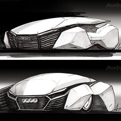 Jang wook kim car sketch