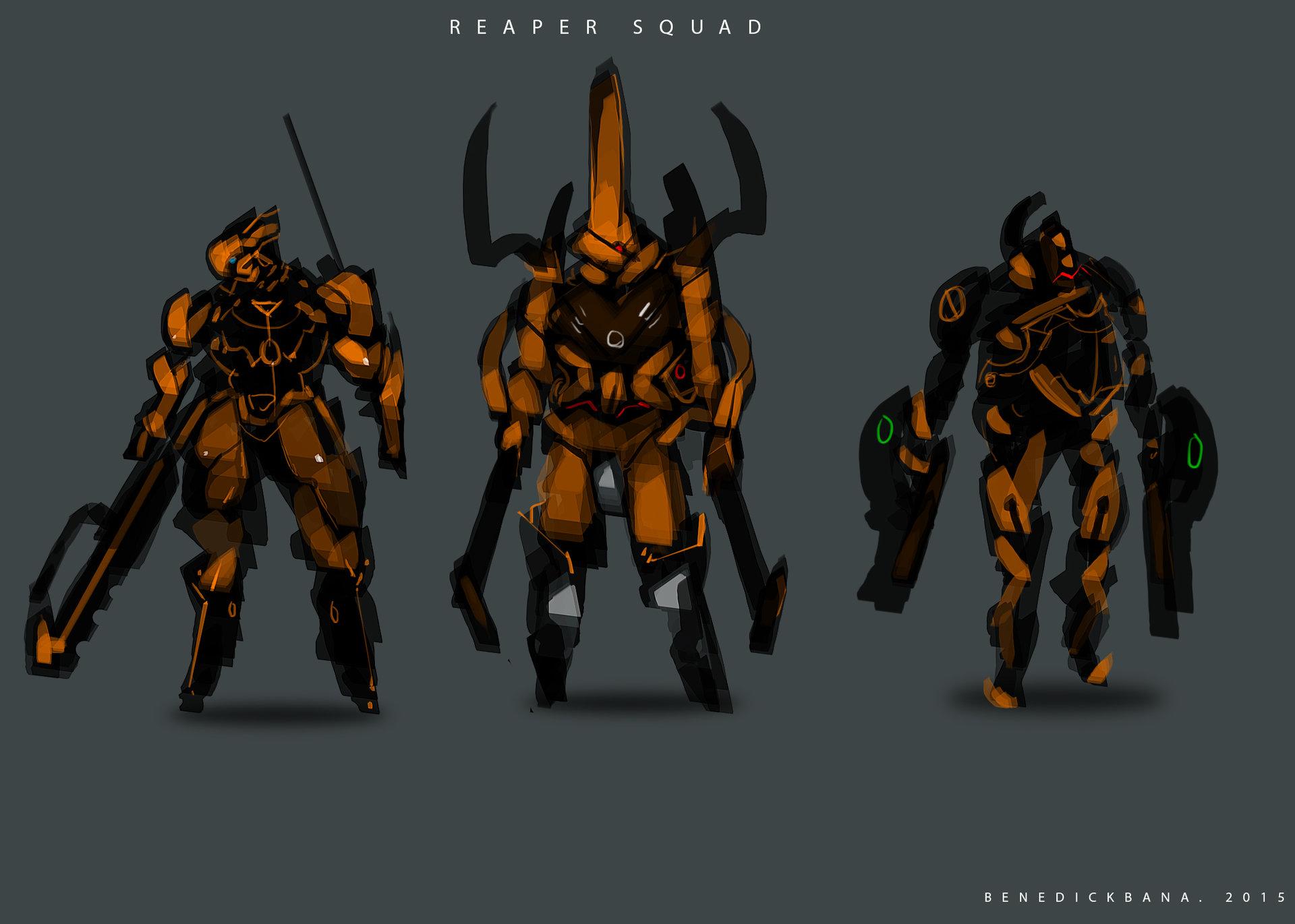 Benedick bana reaper squad