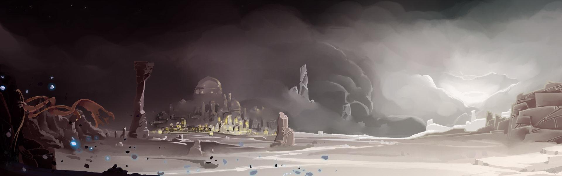 Etienne beschet desertic land