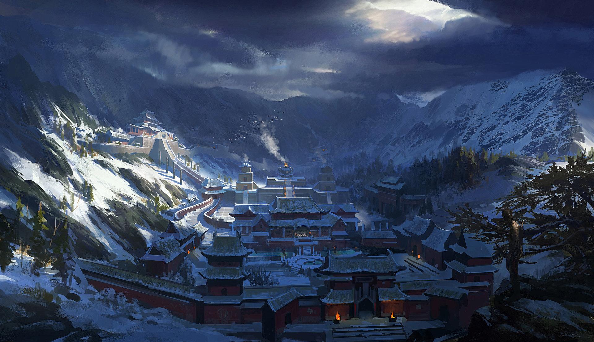 Artstation Yu Quan Yuan Dawnpu At Art Vision Studio