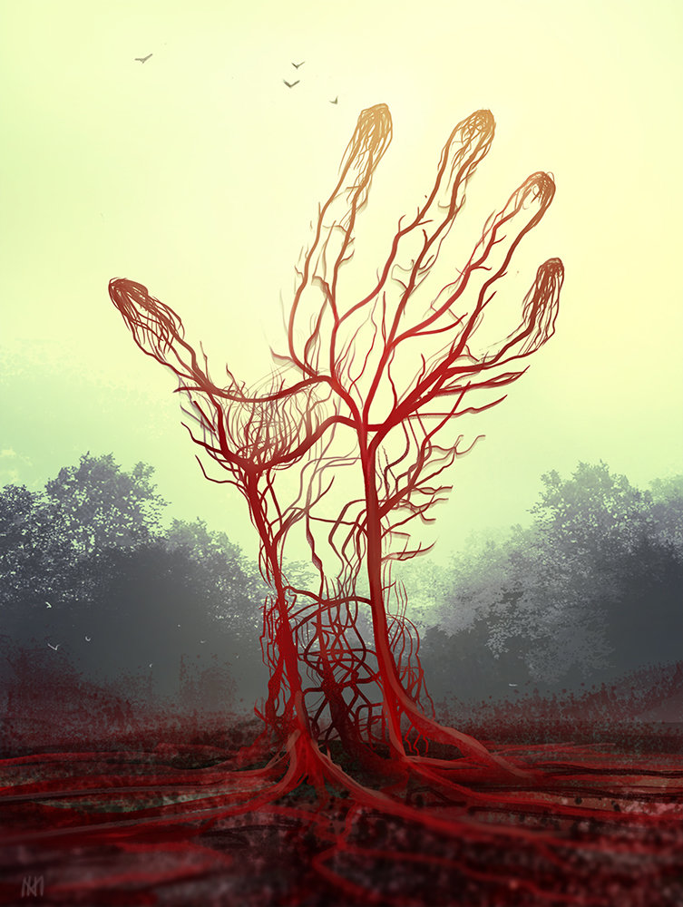Nagy norbert red tree