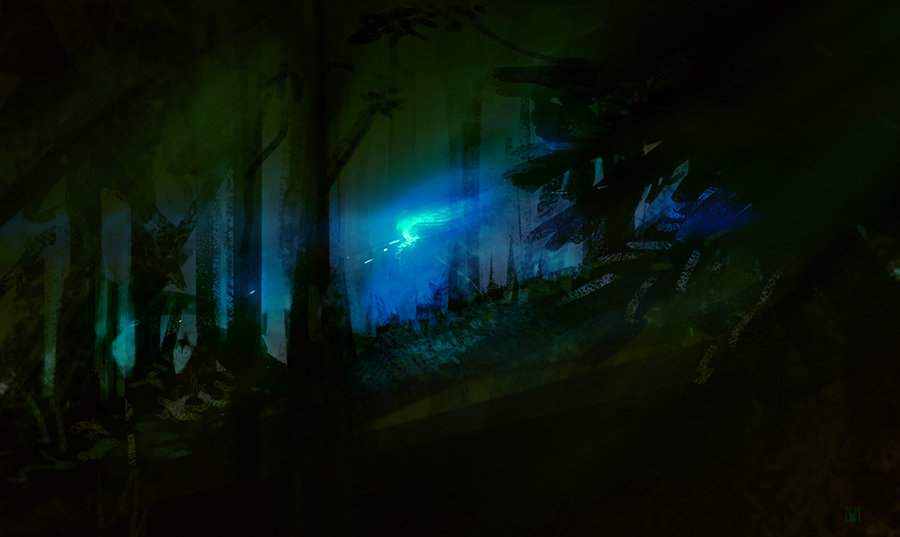 Nagy norbert ghost in the forest