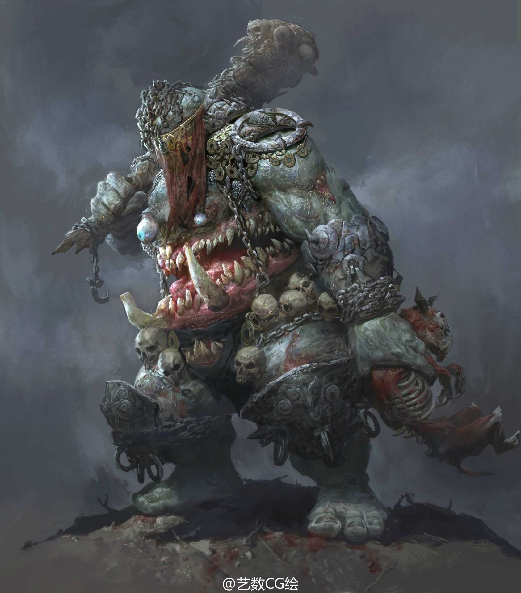 Fenghua zhong the monster