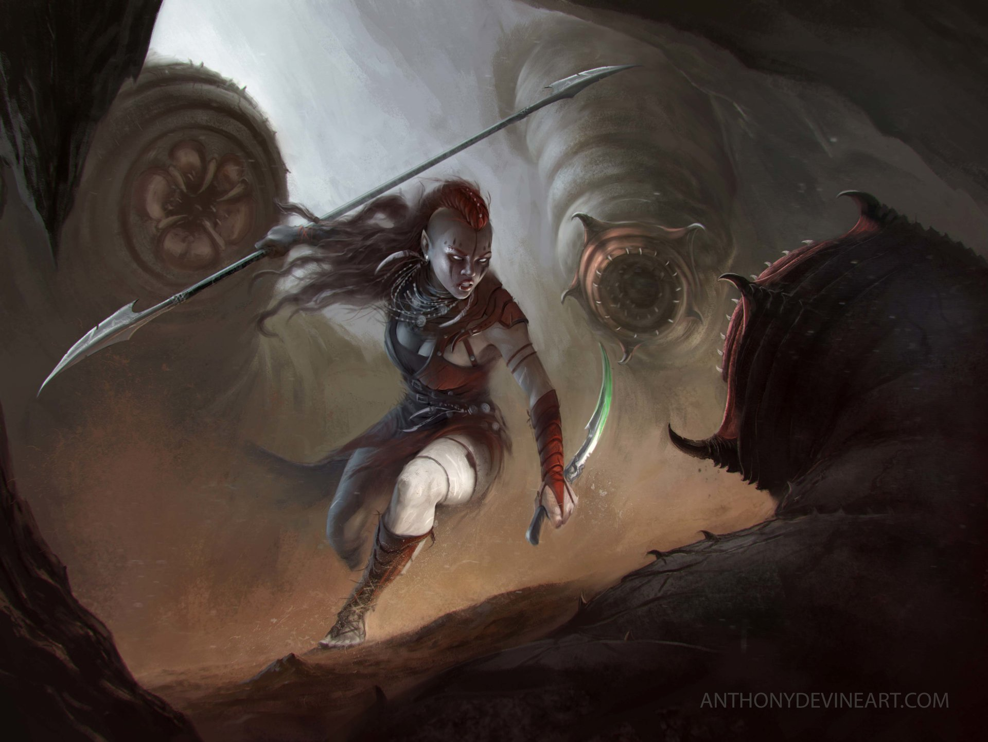 Anthony devine huntress by anthony devine