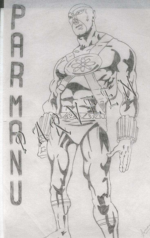 ArtStation - Parmanu Comic Character, Parveen Verma