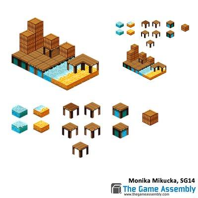 Monika mikucka monikamikucka isometric pixel by monkanponk d89z032