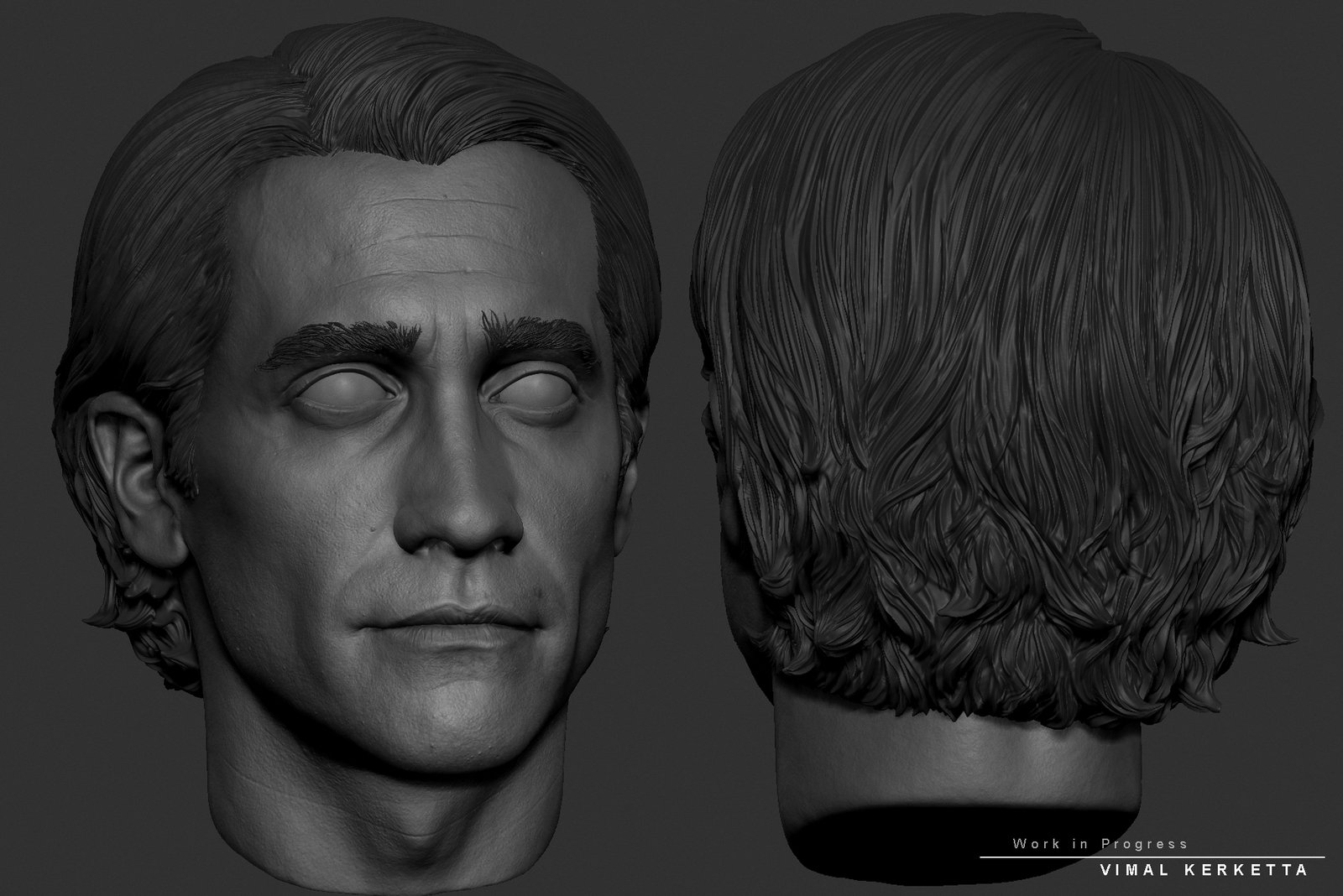 Lou Bloom from Night Crawler(WIP)/Jake Gyllenhaal