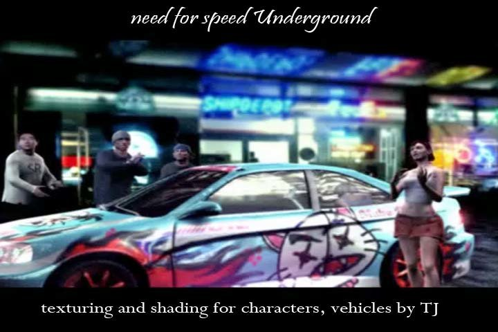 T J  Jung - Need for Speed: Underground