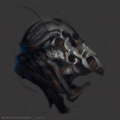 Benedick bana grotesque helmet lores