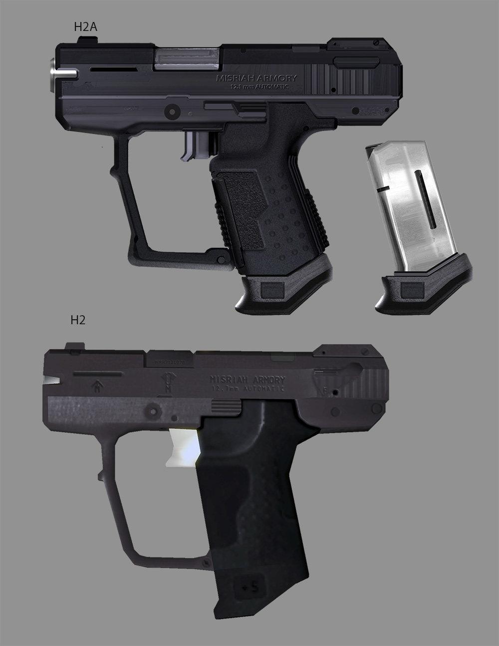 Halo 2: Anniversary Pistol update