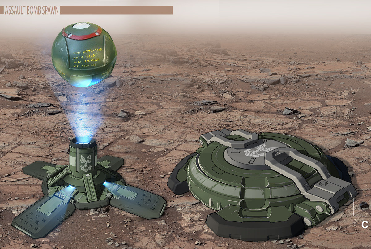 Halo 2: Anniversary Assault game mode objects