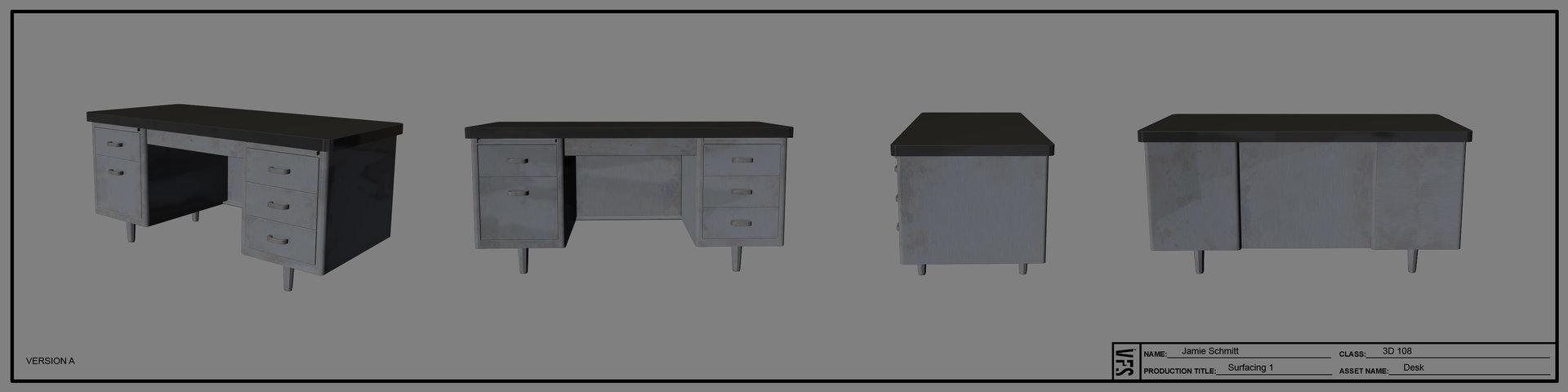 Jamie schmitt 3d108 jamieschmitt stilllife desk textured fin