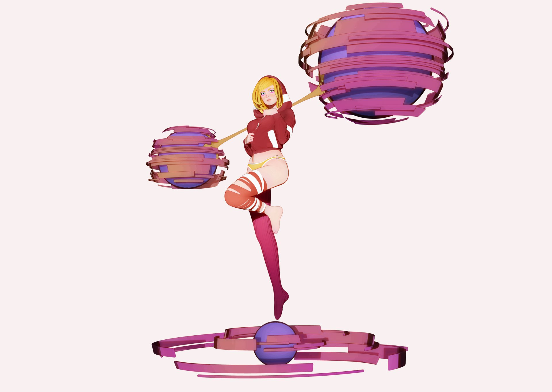 Ladislas gueros girl spheres