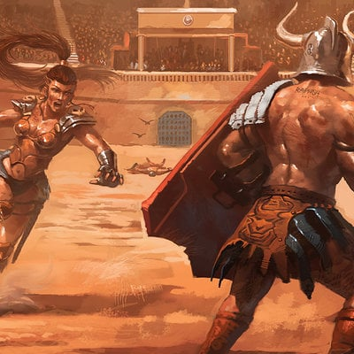Raph lomotan gladiatrix